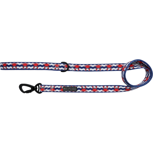 Comfort Dog Leash Under The Sea Crabs Wavy Water