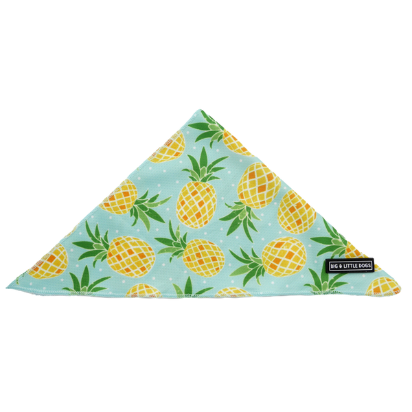 Dog Cooling Neckerchief Bandana Fine-apple Pineapples