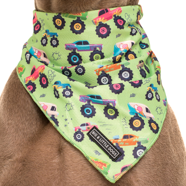 Dog Neckerchief Bandana Truck Yeah! Monster Trucks