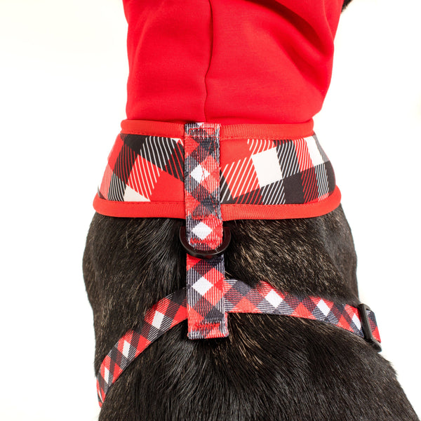 Hoody Dog Harness Roaring Red