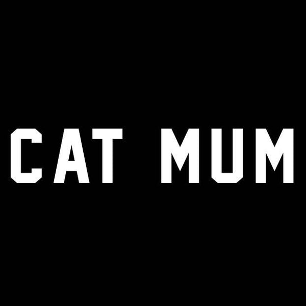 BUMPER STICKER: CAT MUM