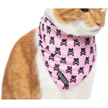 Cat Cooling Bandana Prettiest of them All Pink Cat Skulls
