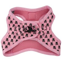 Cat Step In Harness Prettiest of them All Pink Cat Skulls