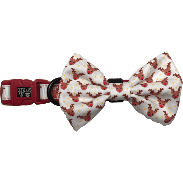 Christmas Package Reindeer Collar and Bow Tie