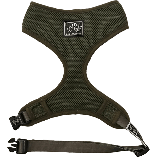The Classic Dog Harness Army Green