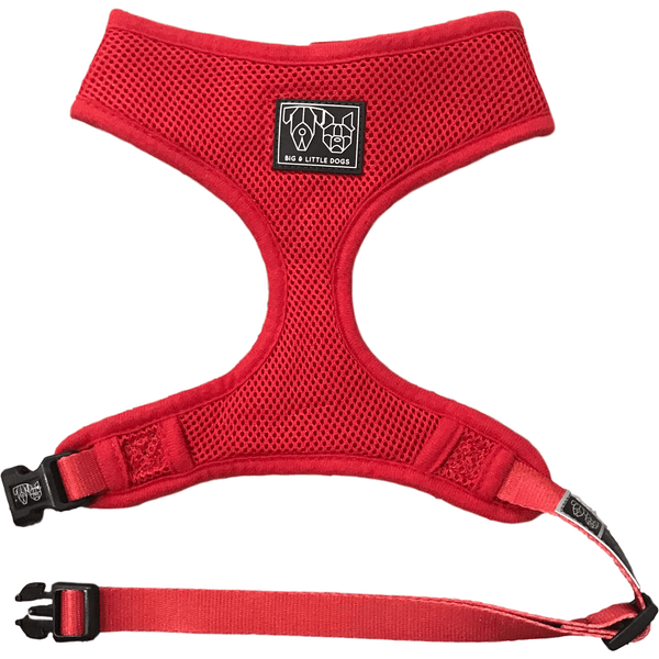 The Classic Dog Harness Red