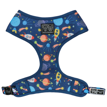Classic Mesh Dog Harness Galactic Adventures Space