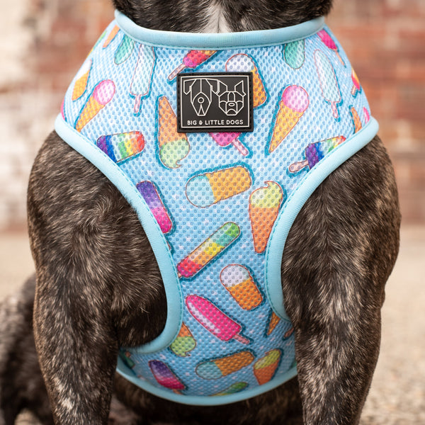 Classic Mesh Dog Harness Ice Cream Delights