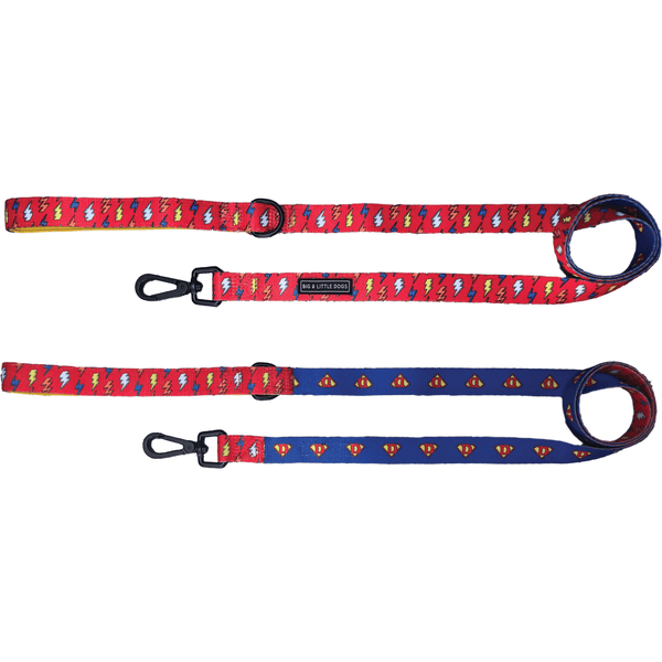 Dog Leash for Big and Small Dogs Lightning Bolts Super Dog