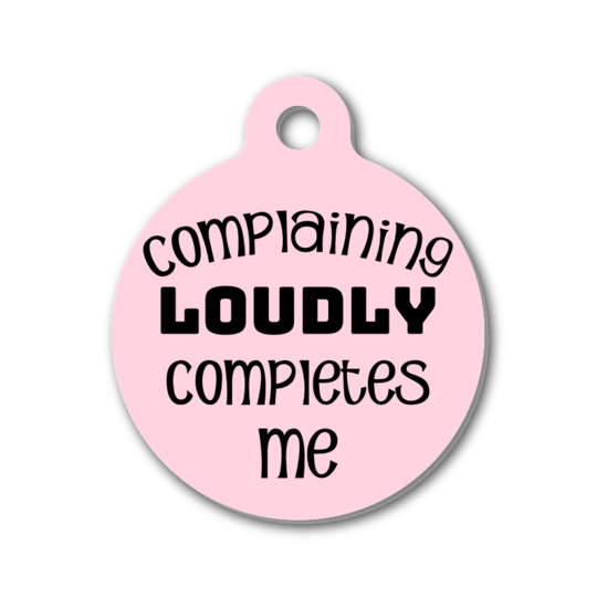 """Smiling Dog Co"" Dog Tag 