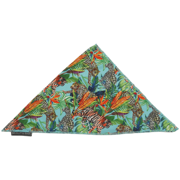 King of the Jungle Jungle Dog Cooling Neckerchief Bandana