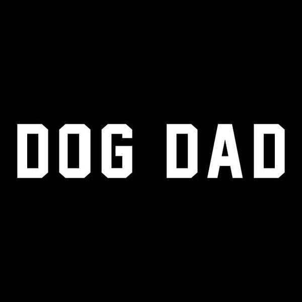 BUMPER STICKER: DOG DAD