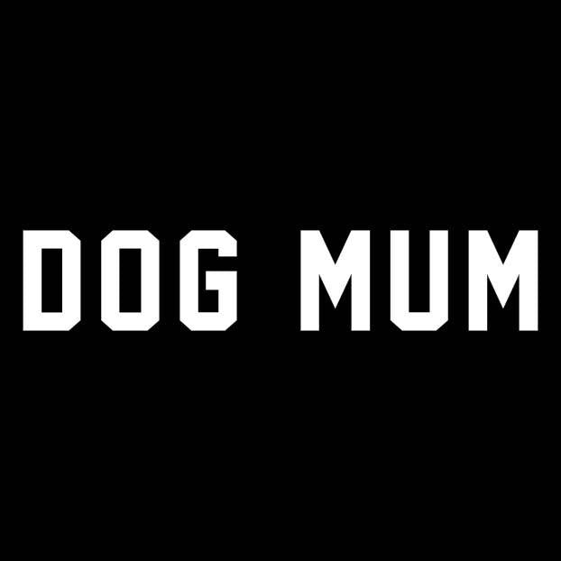 BUMPER STICKER: DOG MUM
