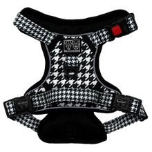 All Rounder Harness No Pull Front Clip Harness Houndstooth