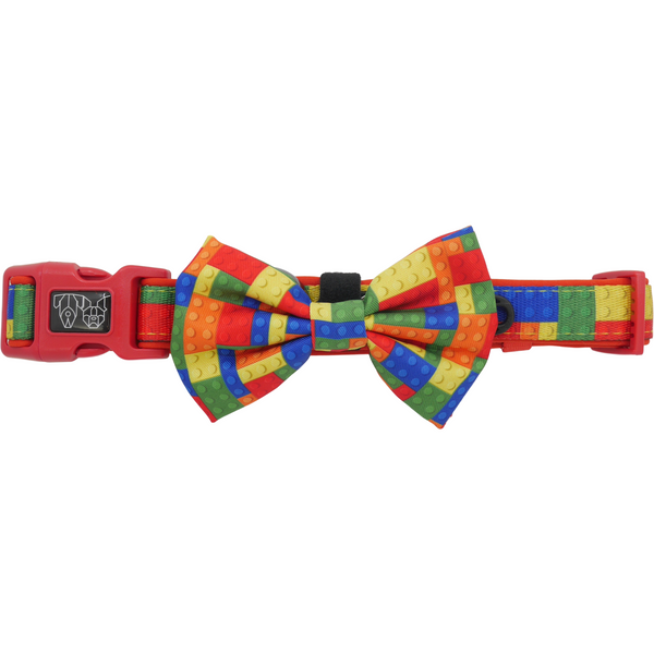 Dog Collar and Bow Tie Blocktastic Blocks