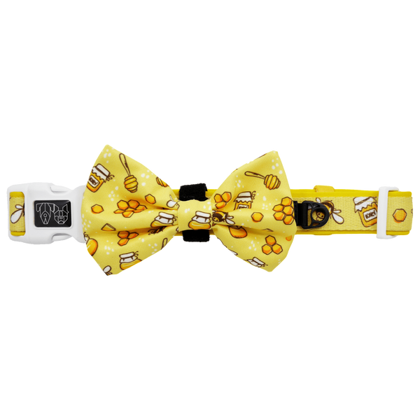 Comfort Dog Collar and Bow Tie Bee-Hiving Bees