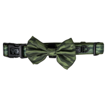 Dog Collar and Bow Tie Camouflaged