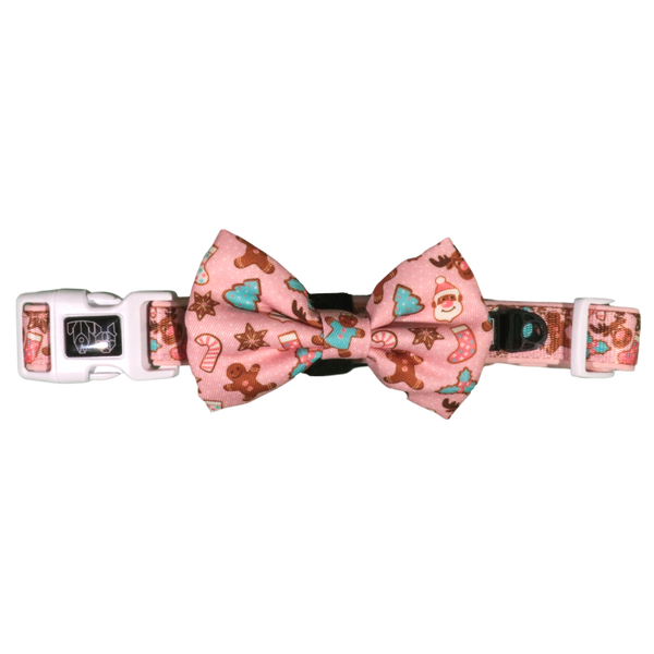 Dog Collar and Bow Tie Christmas Cookies