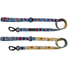 Dog Comfort Leash with Padded Handle Movie Themed Cinema Popcorn Drinks Tickets