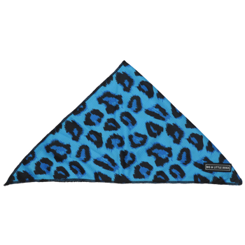 DOG BANDANA: Blue Leopard (NEW!)