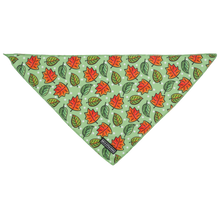 Dog Neckerchief Bandana I've Fallen For You Autumn Fall Leaves