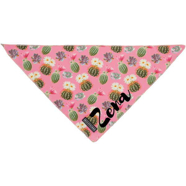 Dog Neckerchief Bandana Plant One On Me Cactus Succulents