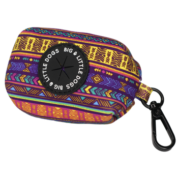 Dog Poop Bag Holder Aztec Dreams