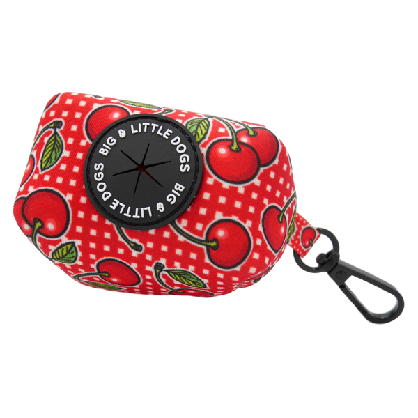 Dog Poop Bag Holder Cherrylicious Cherries