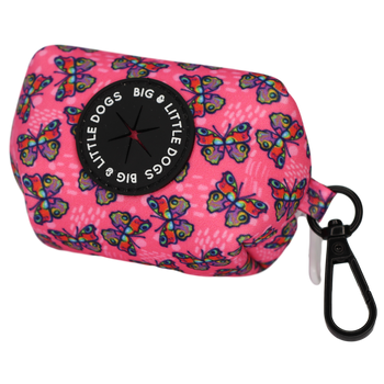 Dog Poop Bag Holder Flutterly Fab Butterfly