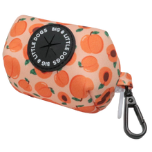 DOG POOP BAG HOLDER: Just Peachy (SOLD OUT)