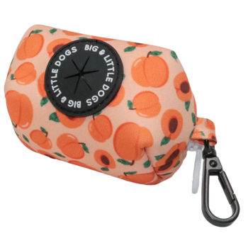 DOG POOP BAG HOLDER: Just Peachy (NEW!)