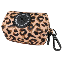 Dog Poop Bag Holder Luxurious Leopard