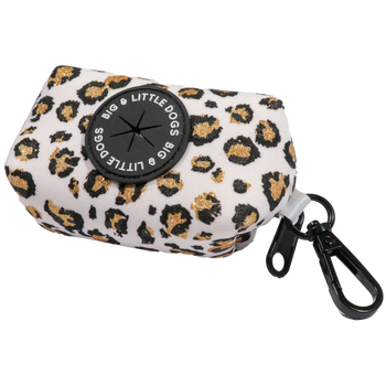 Dog Poop Bag Holder Tis The Season to Sparkle with REAL Glitter