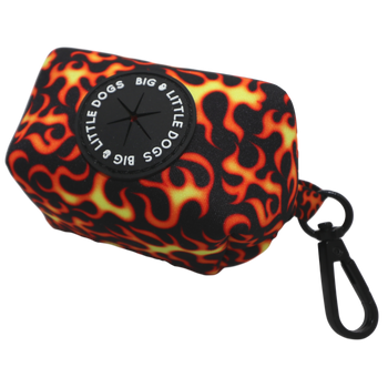 Dog Poop Bag Holder Too Hot To Handle Flames