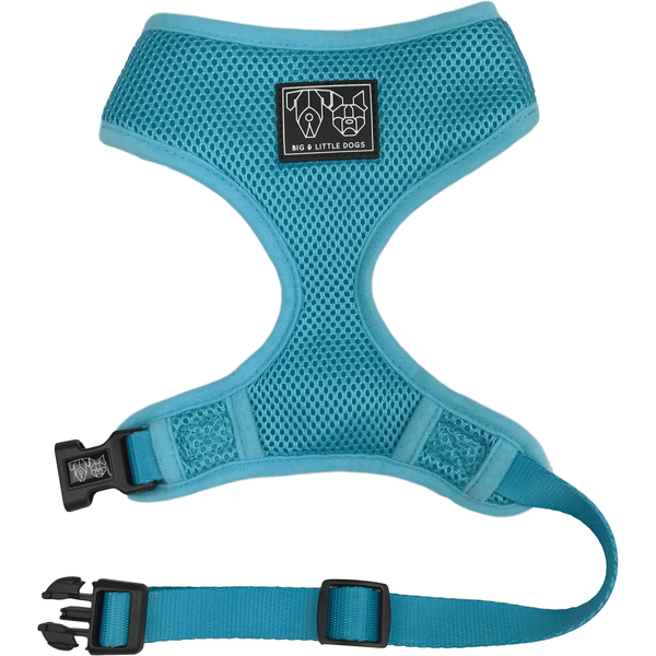 The Classic Dog Harness Blue