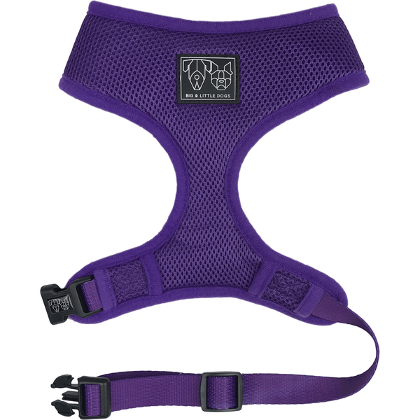 The Classic Dog Harness Purple