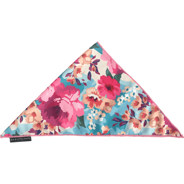 Neckerchief Bandana for Big and Small Dogs Floral Affair