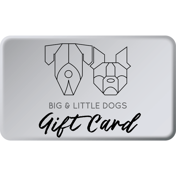 Big & Little Dogs Gift Card
