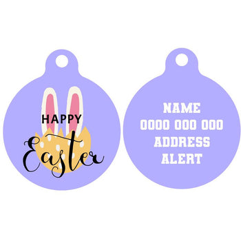 Pet ID Tag | Happy Easter Version 2
