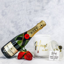 Home by BLD | Champagne & Strawberries Soy Candle