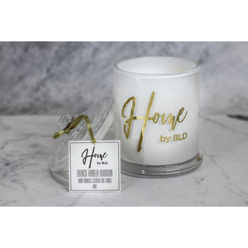 Home by BLD | French Vanilla Bourbon Soy Candle