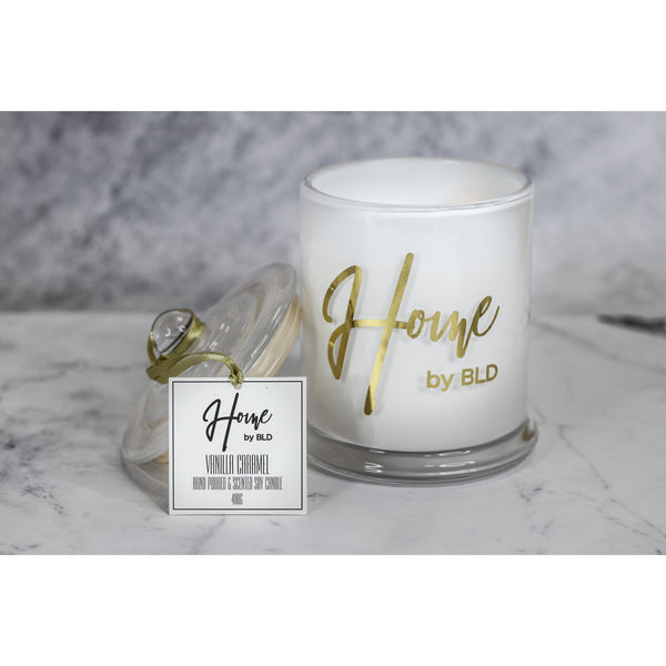 Home by BLD | Vanilla Caramel Soy Candle