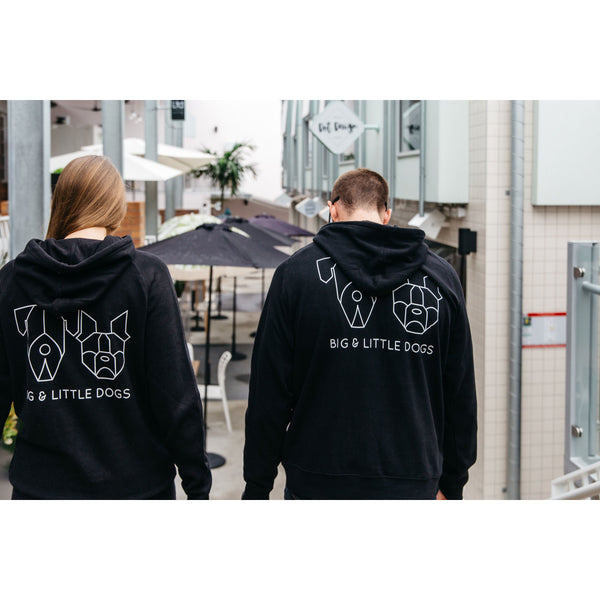 Pawrent BLD Gang Black Premium Hoody Jumper with BLD Logo