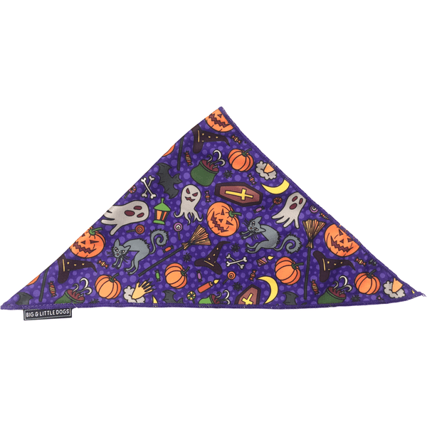 DOG NECKERCHIEF: Howloween LIMITED EDITION!