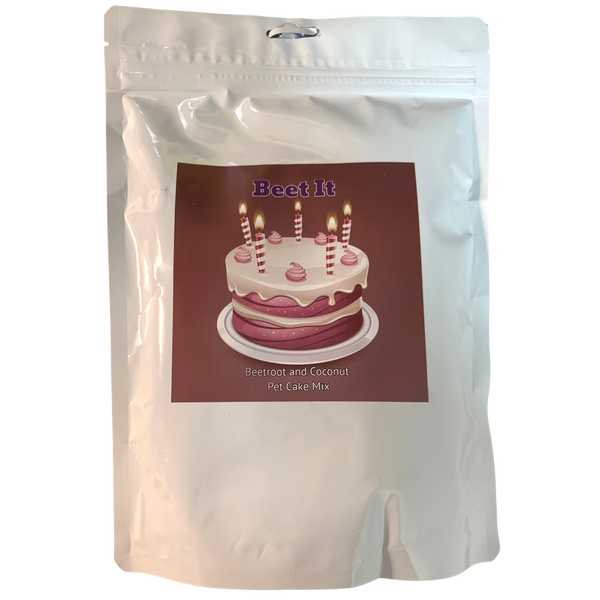 DOG TREATS L'Barkery Beet It Cake Mix