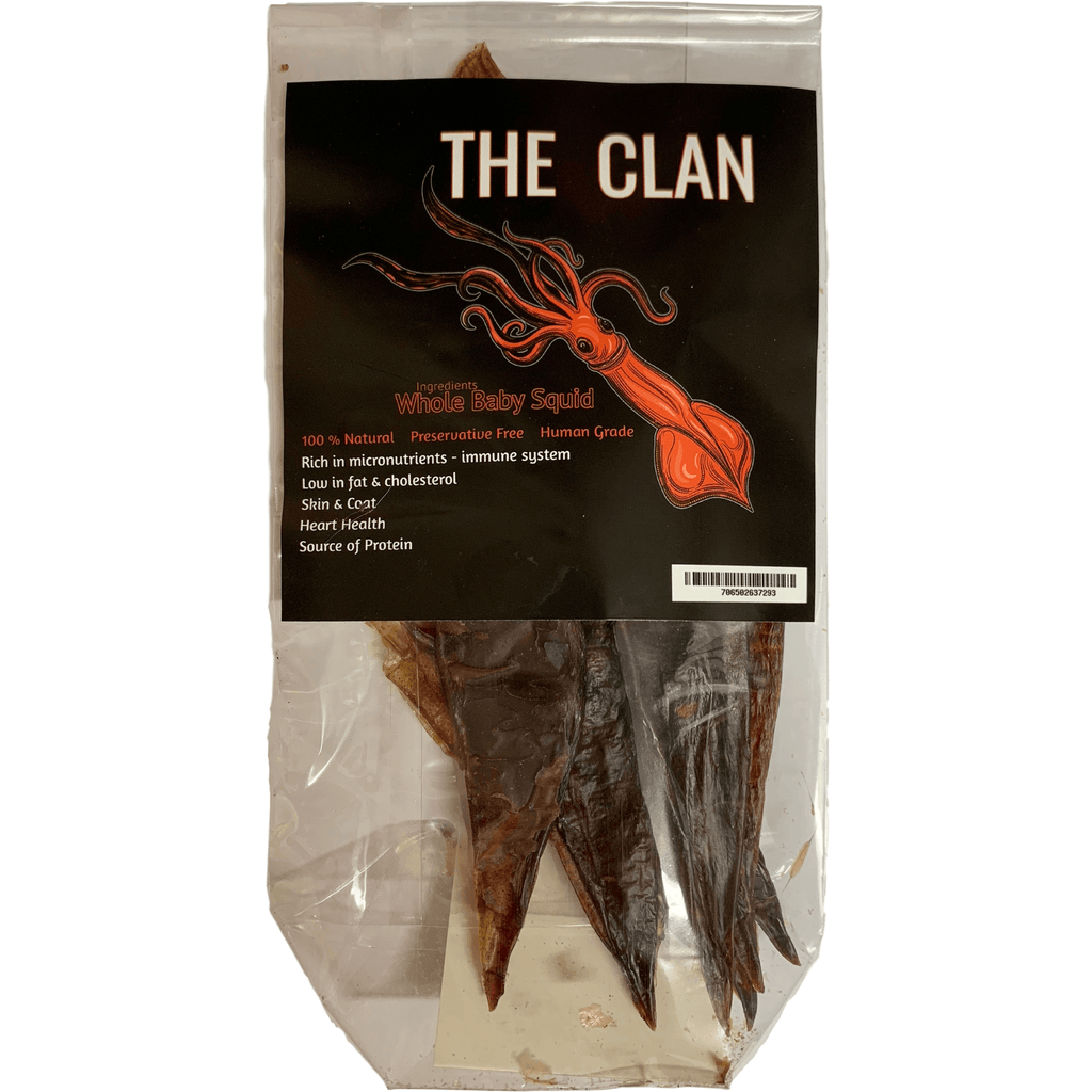 DOG TREATS L'Barkery The Clan Squid
