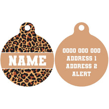 Premium Pet ID Tag | King of the Jungle