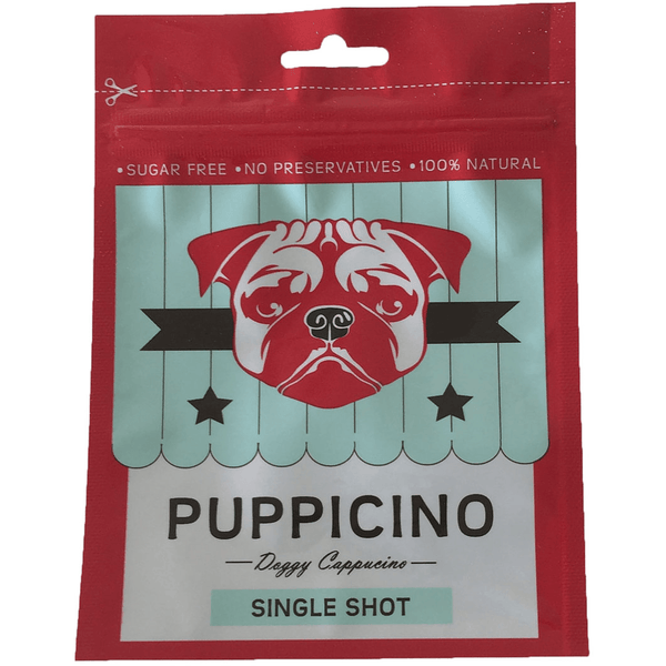 L'Barkery Puppicino Doggie Cappuccino Single Shot