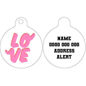 Pet ID Tag | LOVE