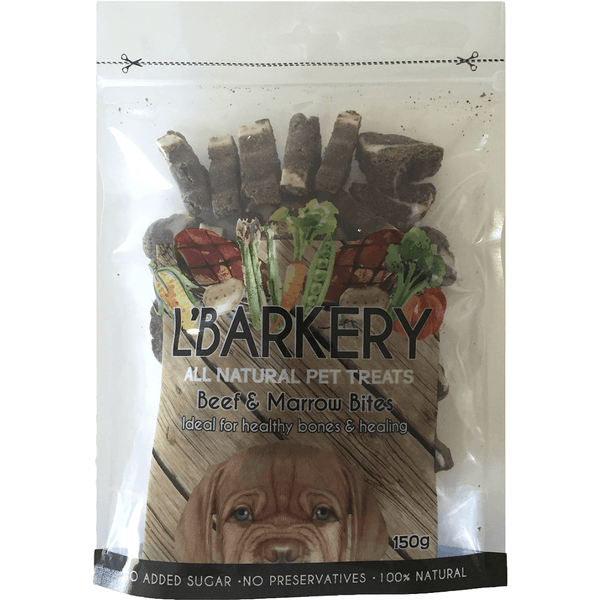 L'Barkery Beef and Marrow Dog Treats